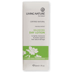 Box of Living Nature Organic Balancing Day Lotion, 50ml