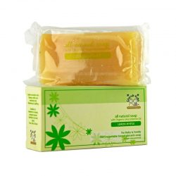 Bar and Box of Cherub Rubs - Organic Lemon Myrtle Soap, 100g
