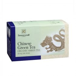 Front view of Sonnentor Organic Chinese Green Tea Blend Package