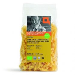 Packet of Girolomoni Whole Wheat Fusilli Pasta
