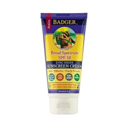 Tube of Badger Organic Sun Screen SPF 30, 2.9oz