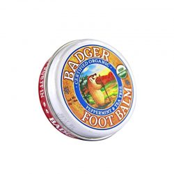 Container of Badger Organic Foot Balm, 0.75oz
