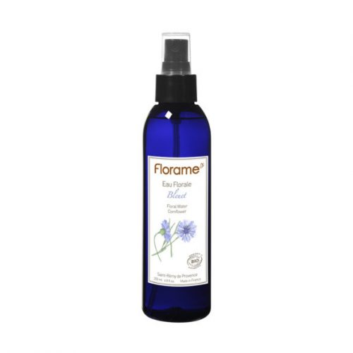 Bottle of Florame Organic Cornflower ORG Floral Water, 200ml
