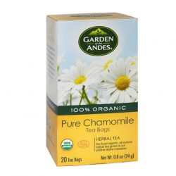 Box of Garden of The Andes Organic Chamomile Tea, 20 bags
