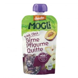 Packet of Mogli Organic Moothie - Plum, Pear and Quince Smoothie (Demeter), 100g