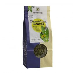Front view of a packet of Sonnentor Dandelion Leaves Tea, 40g