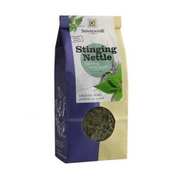 Front view of a packet of Sonnentor Organic Stinging Nettle Tea, 50g
