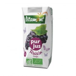 Carton of Vitamont Grape Juice, 200ml