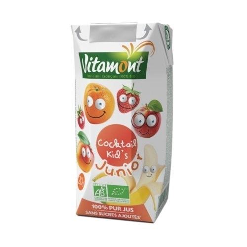 Carton of Vitamont Kid's Cocktail, 200ml