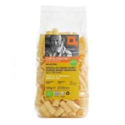 Packet of Girolomoni Rigatoni Pasta