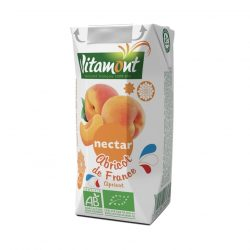 Carton of Vitamont Apricot Nectar Juice, 200ml