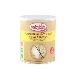 Tin of Babybio Organic Dry Cereal for Infants, 220g