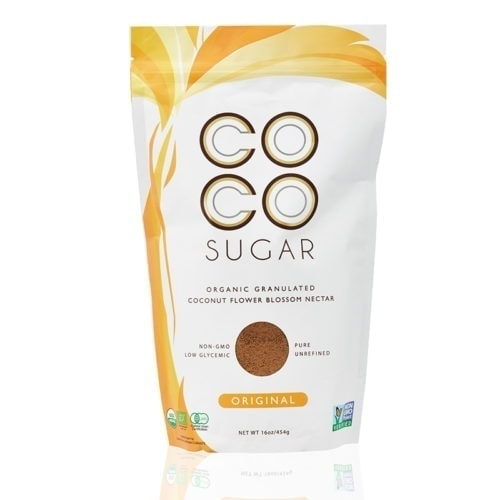 Packet of Coco Organic Coconut Flower Blossom Sugar, 454g