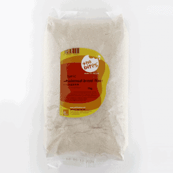 Packet of The Bites Organic Wholemeal Bread Flour, 1kg