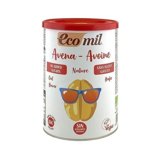 Tin of Ecomil Organic Oat Drink Powder, 400g