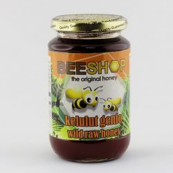 Jar of Beeshop Kelulut Genio Wild Raw Honey