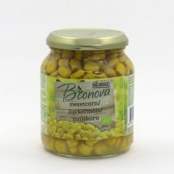 Jar of Bionova Sweetcorn