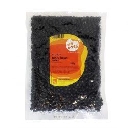 Packet of Justlife organic black beans