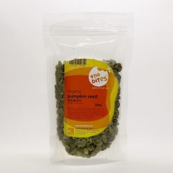 Packet of The Bites organic pumpkin seeds
