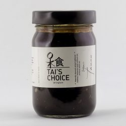 Container of Tai's Choice organic taucu