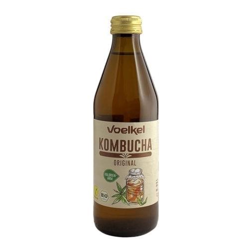 Bottle of Voelkel Organic Kombucha Original