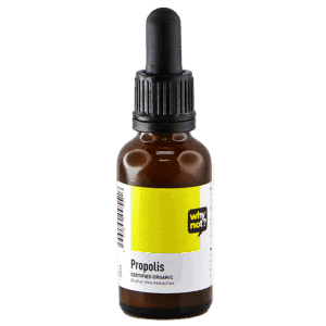 Bottle of Why Not Propolis for Justlife Product Page