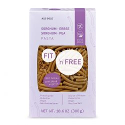 Packet of ALB-GOLD Organic Gluten-Free Sorghum and Pea Pasta, 300g
