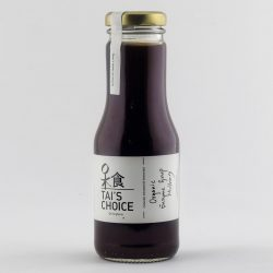 Bottle of Tai's Choice Organic Enzyme Syrup Mulberry