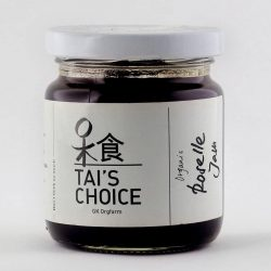 Container of Tai's Choice Organic Roselle Jam