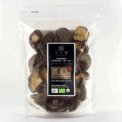 Packet of Manna Foundation Organic Shiitake Mushrooms, 100g