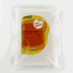 Packet of The Bites Baking Powder (Aluminium-Free), 150g