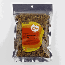Packet of The Bites Organic Dried Mulberry, 250g