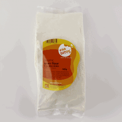 Packet of The Bites Unbleached Plain Flour, 500g