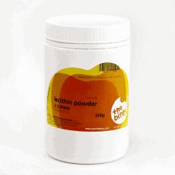Bottle of The Bites Lecithin Powder, 250g