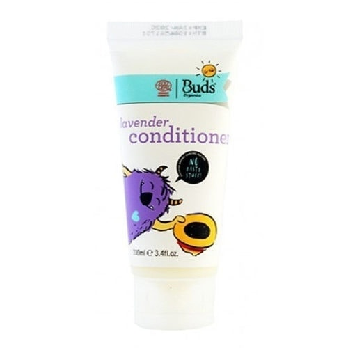 Bottle of Buds Organic Lavender Conditioner (100ml)