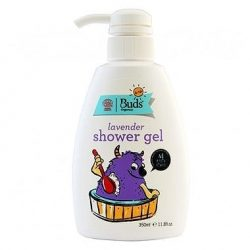 Bottle of Buds for Kids - Organic Lavender Shower Gel, 350ml