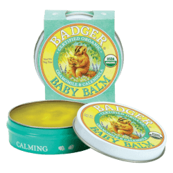 Container of Badger Baby Balm (2oz)