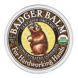 Container of Badger Balm Hardworking (2oz)