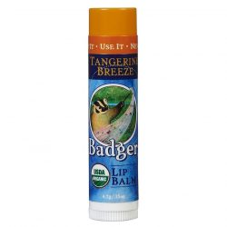 Stick of Badger Lip Balm Tangerine Breeze (0.15oz)