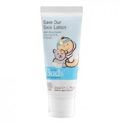 Bottle of Buds Cherished Organics - First Aid Lotion (Save our Skin), 50ml