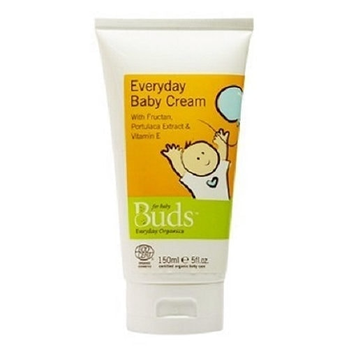 Bottle of Buds Everyday Organics - Everyday Baby Cream (150ml)