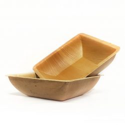 Two Fallaleaf Square Bowls (300ml)