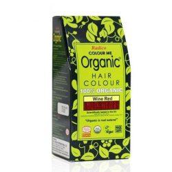 Box of Radico Wine Red Hair Colour Powder (100g)